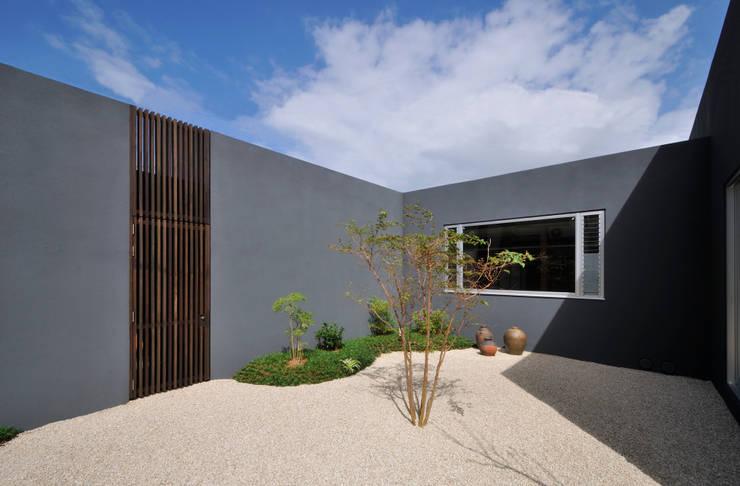 庭: 株式会社クレールアーキラボが手掛けた庭です。