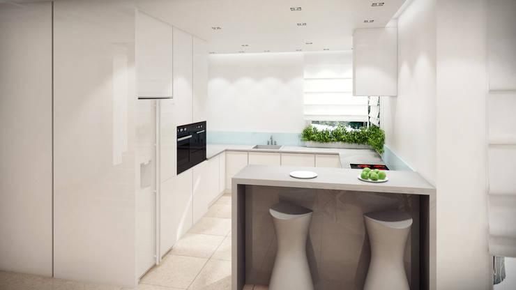 Dom, pow. 210 m2, Chwaszczyno: styl , w kategorii Kuchnia zaprojektowany przez 3miasto design,Nowoczesny