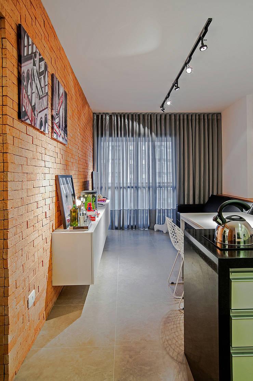 Apartamento LB: Salas de jantar  por Studio Boscardin.Corsi Arquitetura,