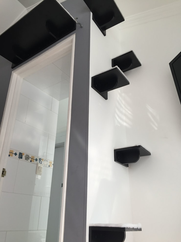 Diseño espacio para gatos Habitación :  de estilo  por Gatificando