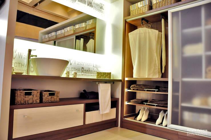 Antebaño y Vestidor Contemporáneos: Baños de estilo  por D&C Interiores