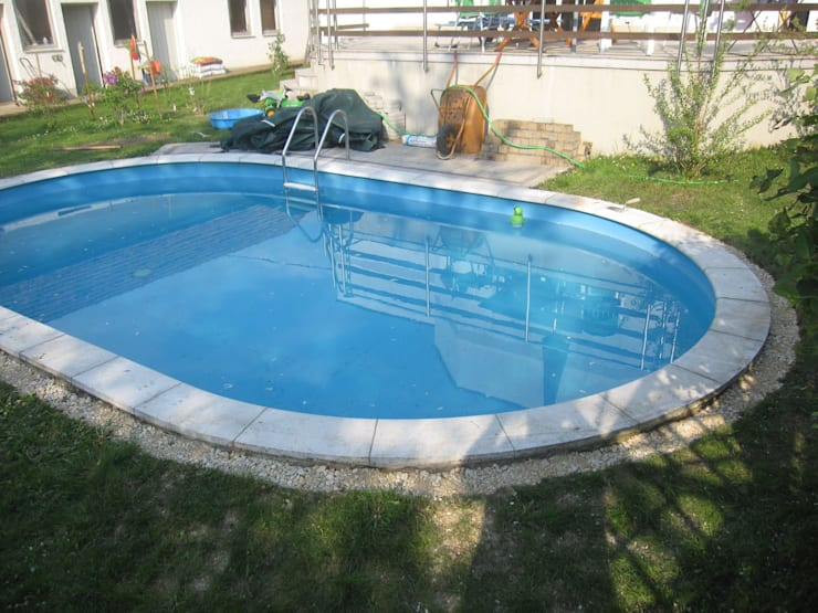 Art yapi havuz sistemleri 32m2 prefabr k havuz homify for Cuanto cuesta hacer una piscina en colombia