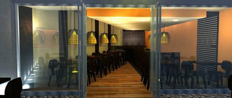 ITAMAESUSHI de chacras:  de estilo  por M.i. arquitectura & construcción