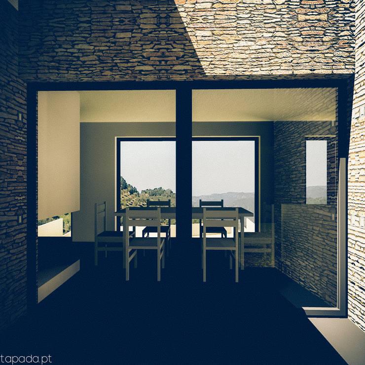 Casa em Barrancos: Casas  por Tapada arquitectos
