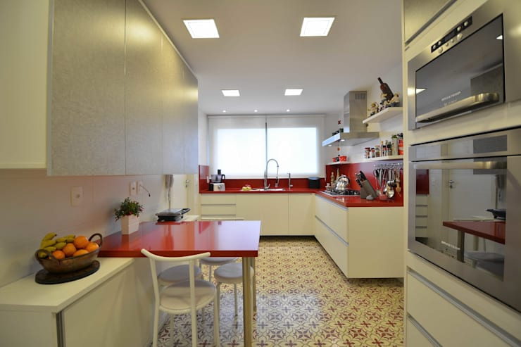Cocinas de estilo  por Marcelo Minuscoli - Projetos Personalizados