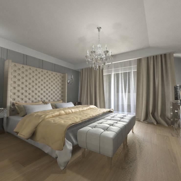 Sypialnia: styl , w kategorii Sypialnia zaprojektowany przez Denika ,