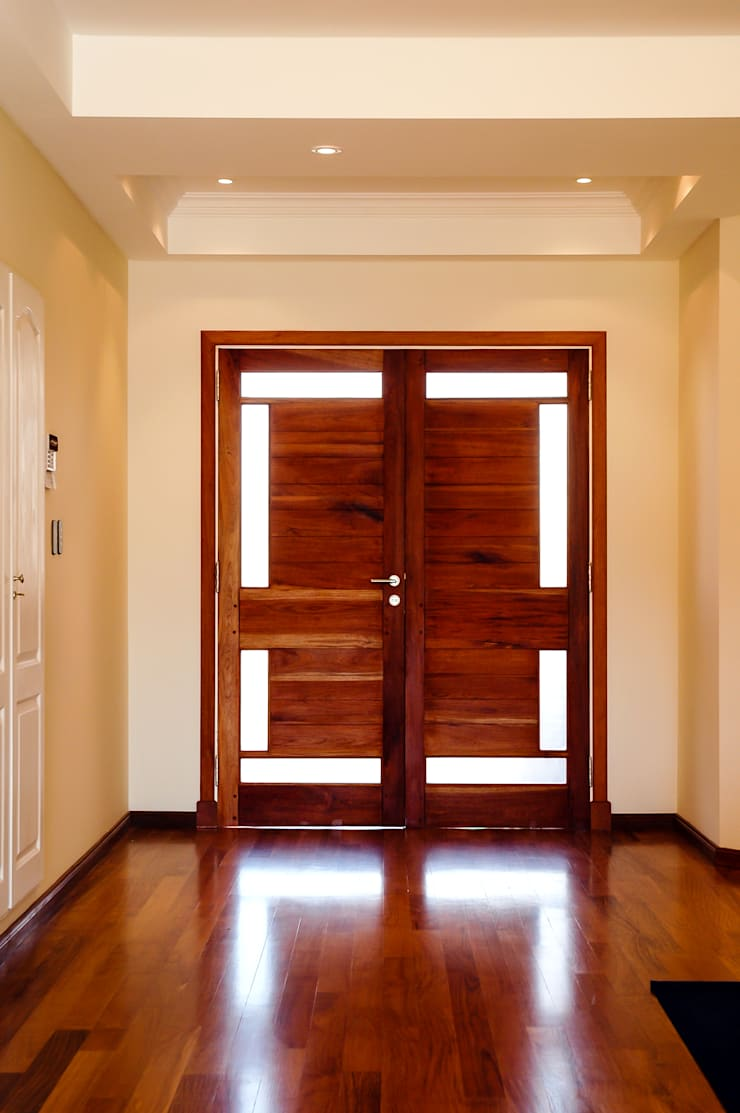 LEVALLE HOUSE: Livings de estilo  por Carbone Fernandez Arquitectos,Moderno