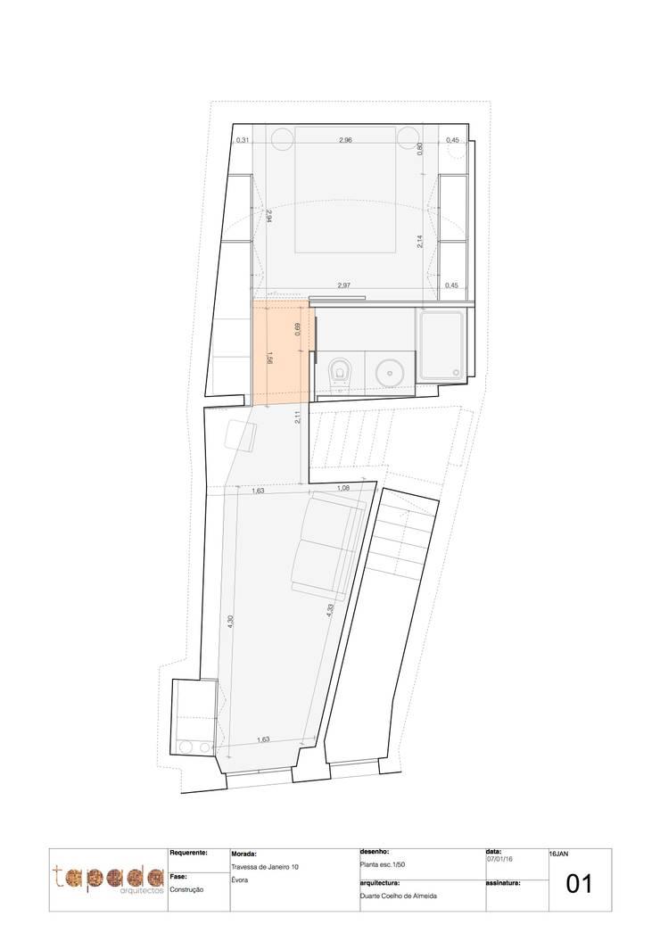 Recuperação em Évora:   por Tapada arquitectos