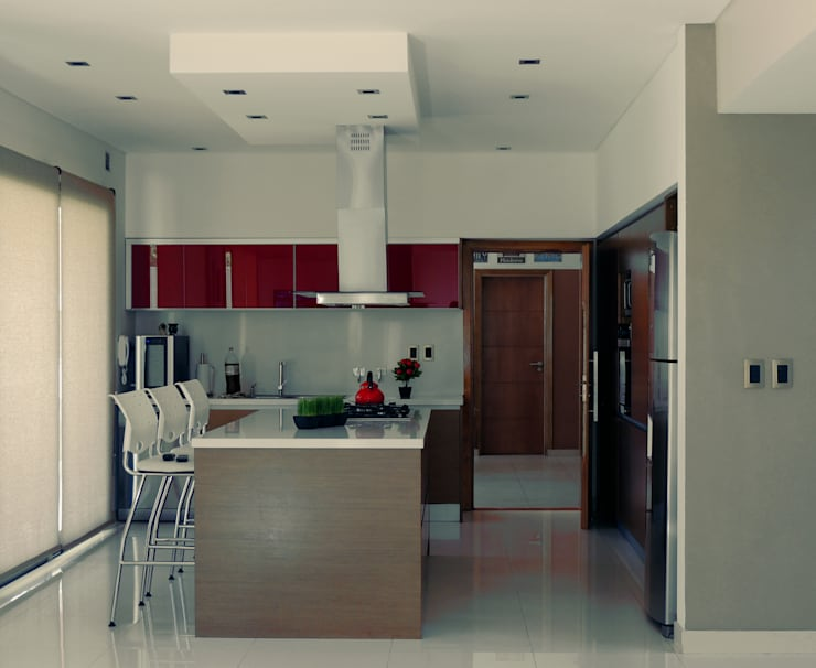 Kitchen by Carbone Fernandez Arquitectos