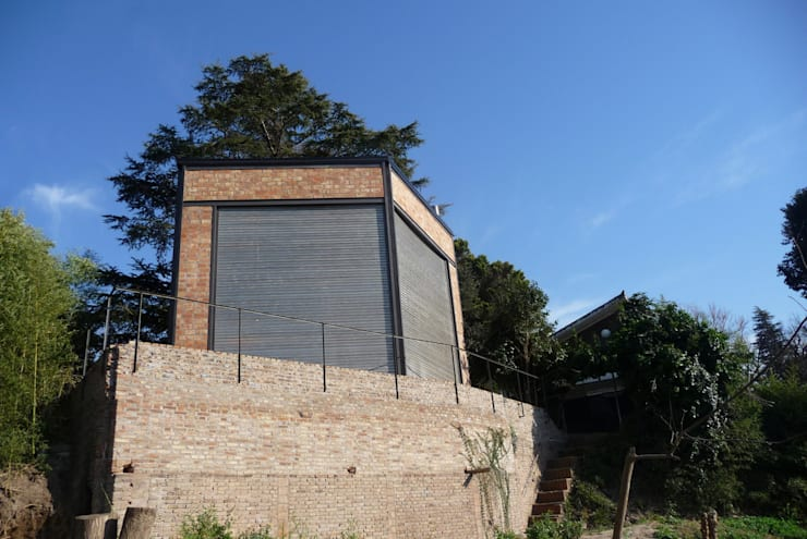 Casa Aity Casas rústicas de Arcubo arquitectos Rústico