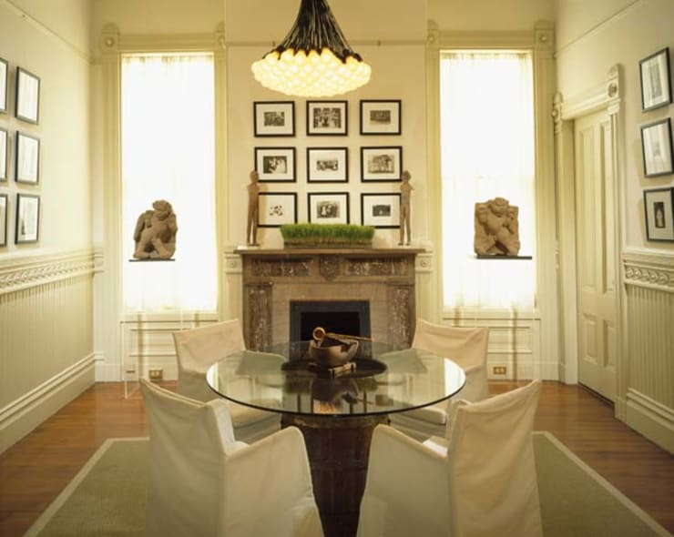 Dining room by Antonio Martins Interior Design Inc