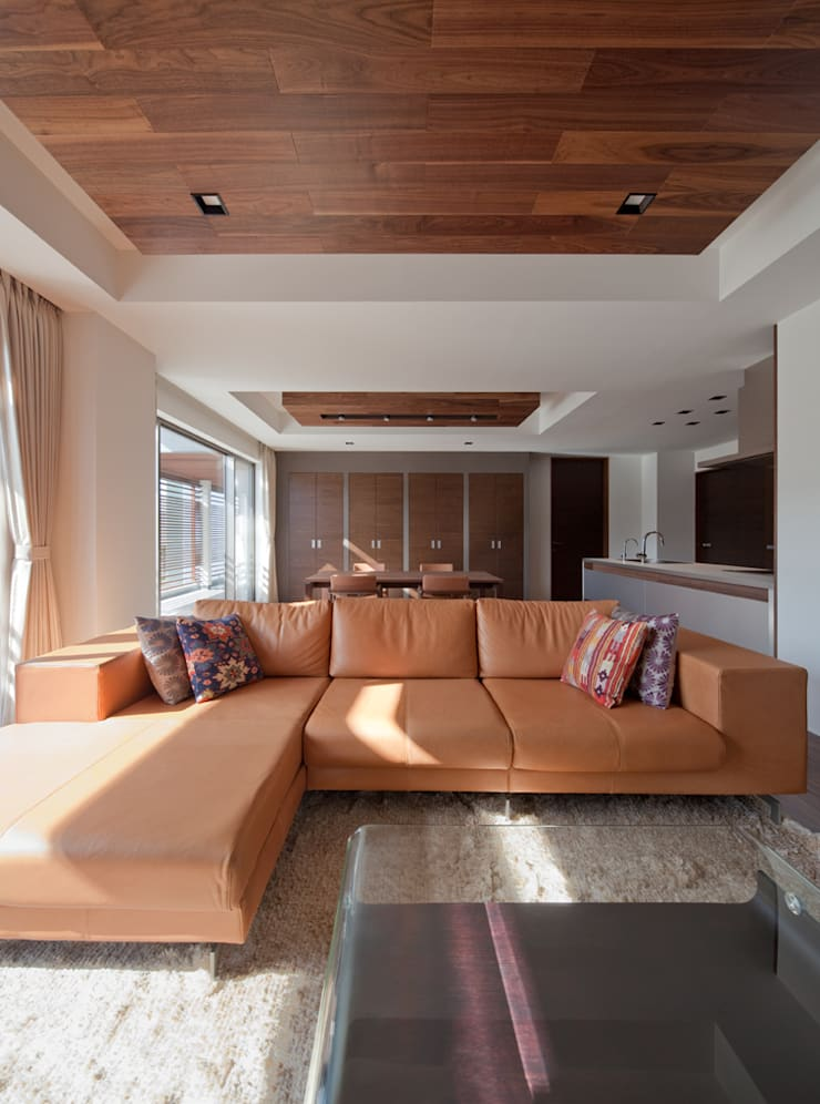 Modern Oturma Odası Architect Show Co.,Ltd Modern