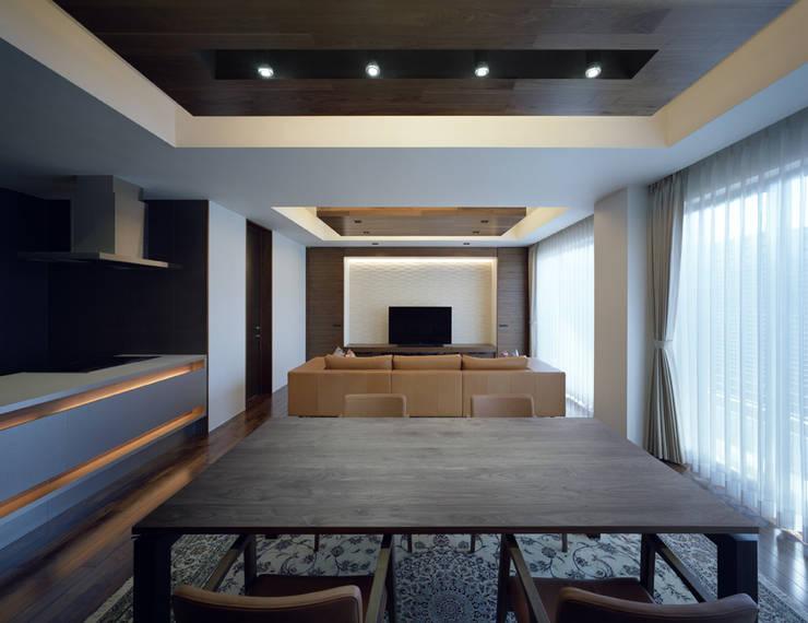 Modern Yemek Odası Architect Show Co.,Ltd Modern