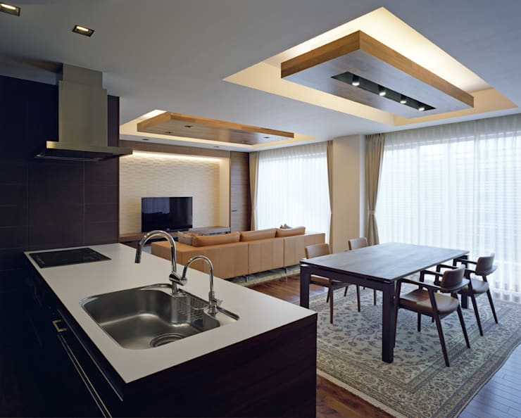 Modern Kitchen by Architect Show Co.,Ltd Modern