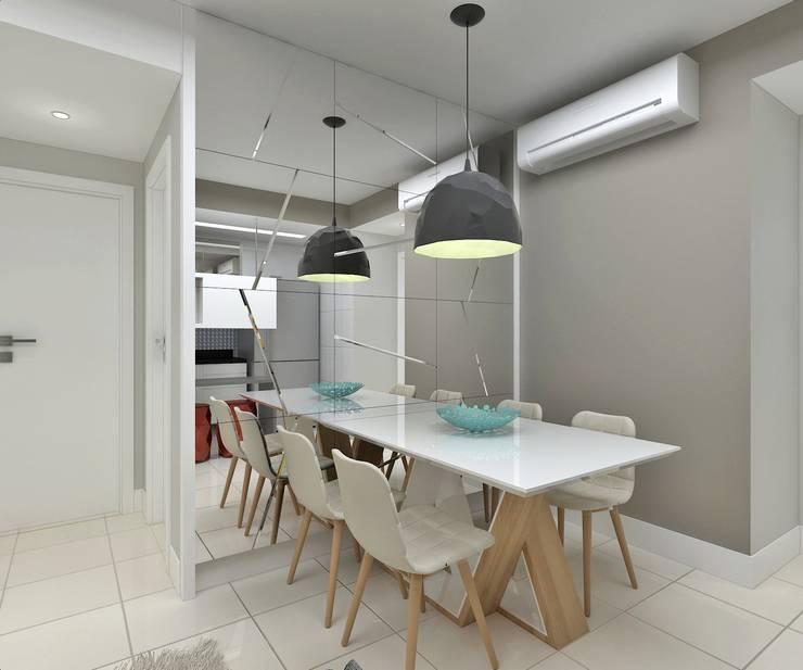 Sala de Jantar: Salas de jantar  por Marcos Assmar Arquitetura | Paisagismo,Moderno