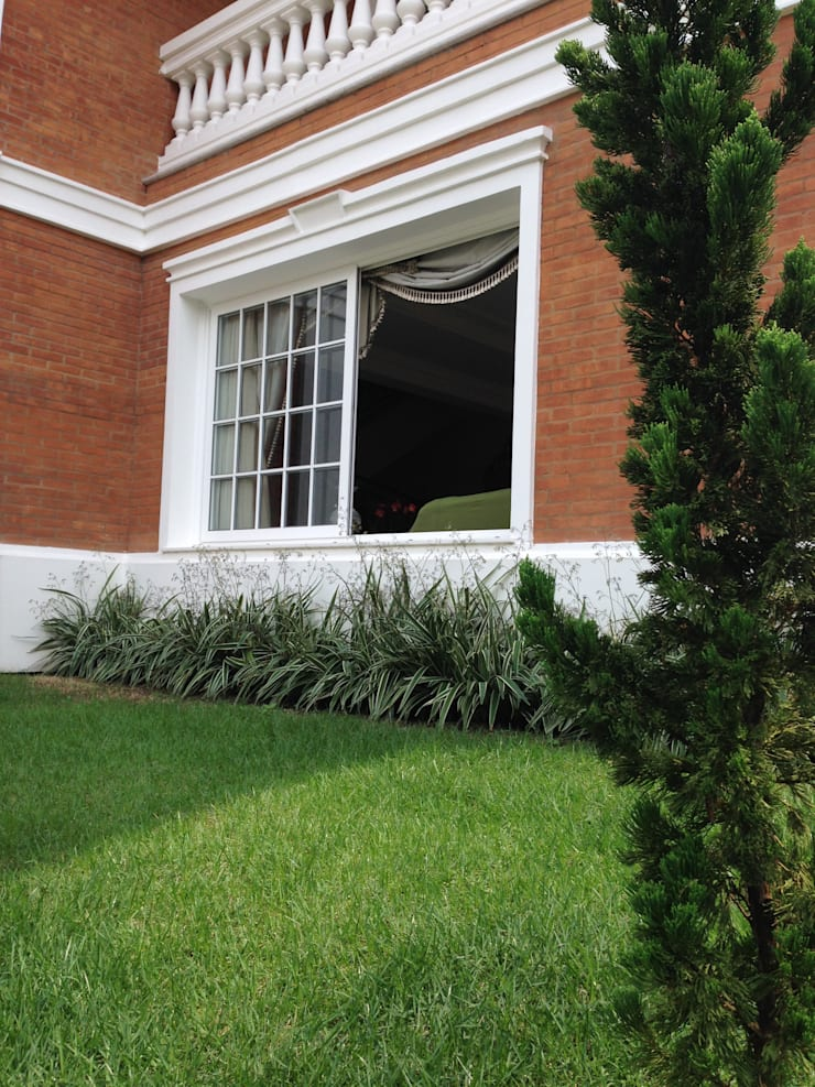 Jardim Maia: Jardins  por Marcos Assmar Arquitetura | Paisagismo,Clássico