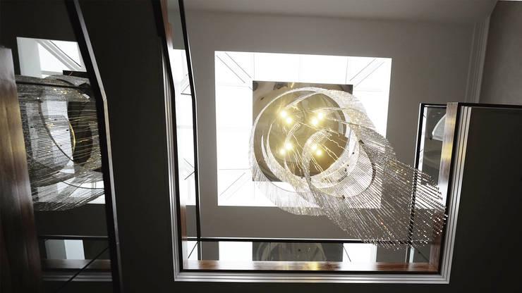 Corridor & hallway by Keir Townsend Ltd., Modern Glass
