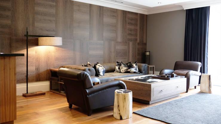 Salon de style de style Moderne par Keir Townsend