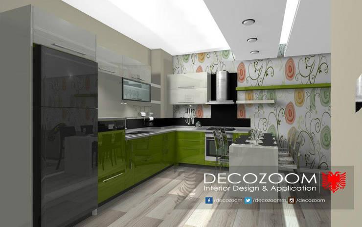 DECOZOOM INTERIOR DESIGN – Açık Mutfak: modern tarz Mutfak