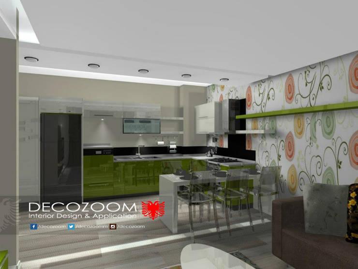 DECOZOOM INTERIOR DESIGN – MODERN MUTFAK ÖNERİLERİ: modern tarz Mutfak