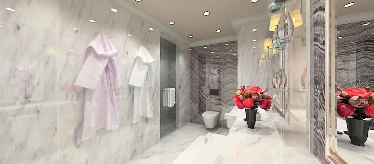 Kerim Çarmıklı İç Mimarlık의  욕실