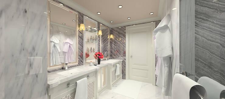 Kerim Çarmıklı İç Mimarlık – F.G. EVİ:  tarz Banyo
