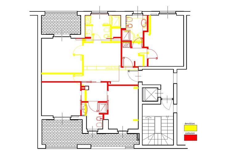 modern Houses by Architetto Alberto Colella