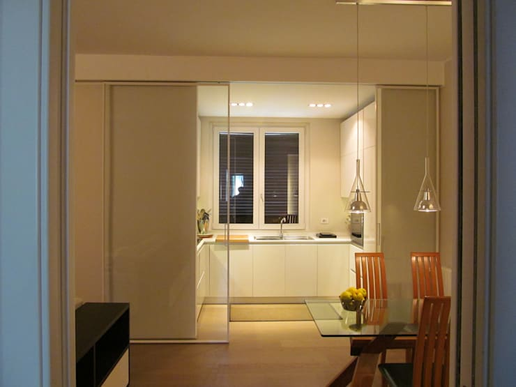 Projekty,  Kuchnia zaprojektowane przez Architetto Alberto Colella