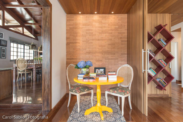 Projeto MF Interiores - Casa de Campo: Salas de jantar  por MF Interiores