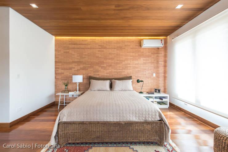 Projeto MF Interiores - Casa de Campo: Quartos  por MF Interiores