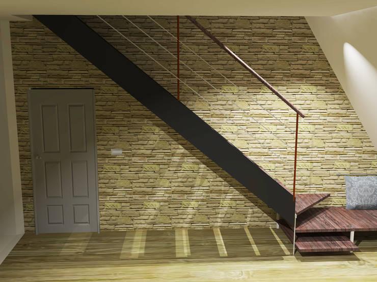 RENDER_HOME STAGING:  in stile  di Ispirazioni d'interni Arch. Simonetta Spadelli