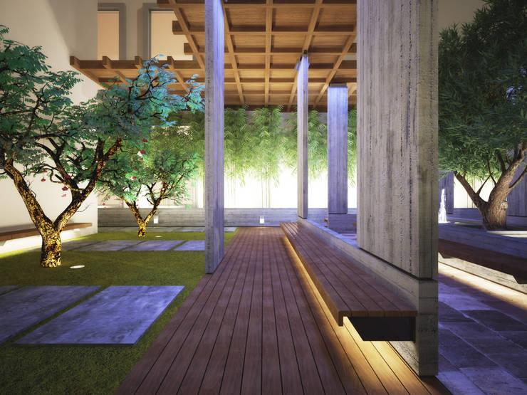 Kerim Çarmıklı İç Mimarlık – NUROL TOWER TERAS:  tarz