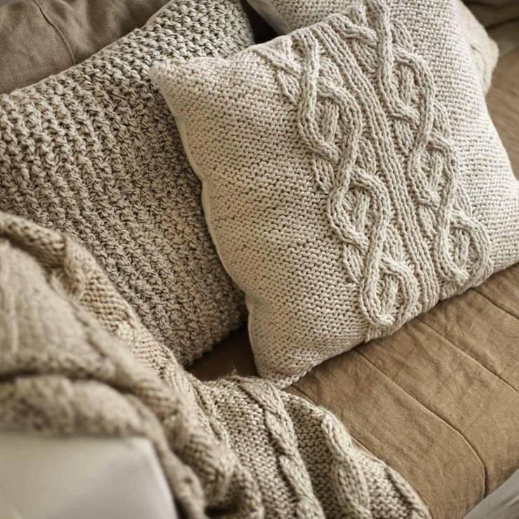 Mantas tejidas artesanalmente:  de estilo  por Carolina biercamp