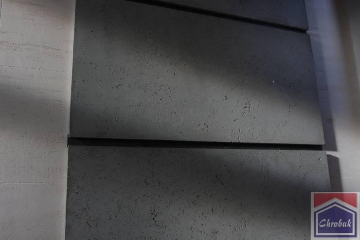 Płyta z betonu architektonicznego. : styl , w kategorii  zaprojektowany przez Kamienie Naturalne Chrobak ,Nowoczesny