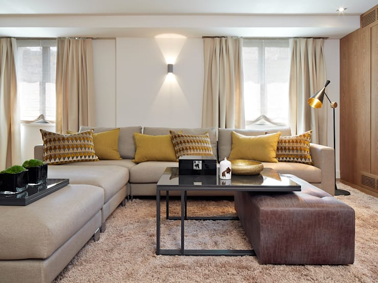 Living room by Molins Interiors