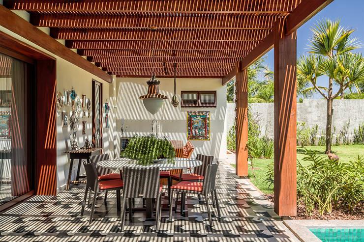 Projekty,  Taras zaprojektowane przez Antônio Ferreira Junior e Mário Celso Bernardes