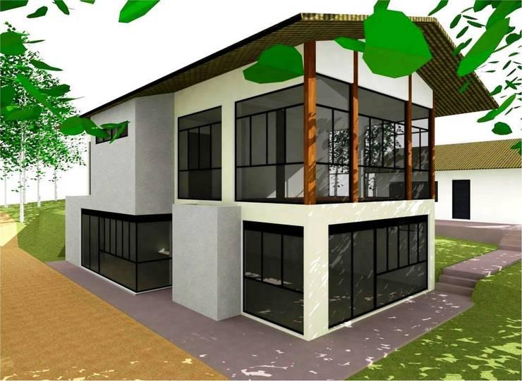 Retrofit Corporativo BB: Espaços comerciais  por Nádia Catarino - Arquitetura e Design de Interiores,Minimalista