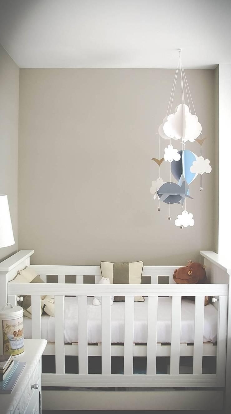 DECORACION – Cuarto para bebé: Dormitorios infantiles de estilo  por PLATZ