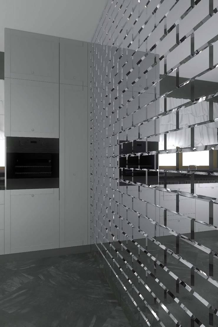 Nowoczesna, elegancka kuchnia w Niemczu: styl , w kategorii Kuchnia zaprojektowany przez Mobiliani Design