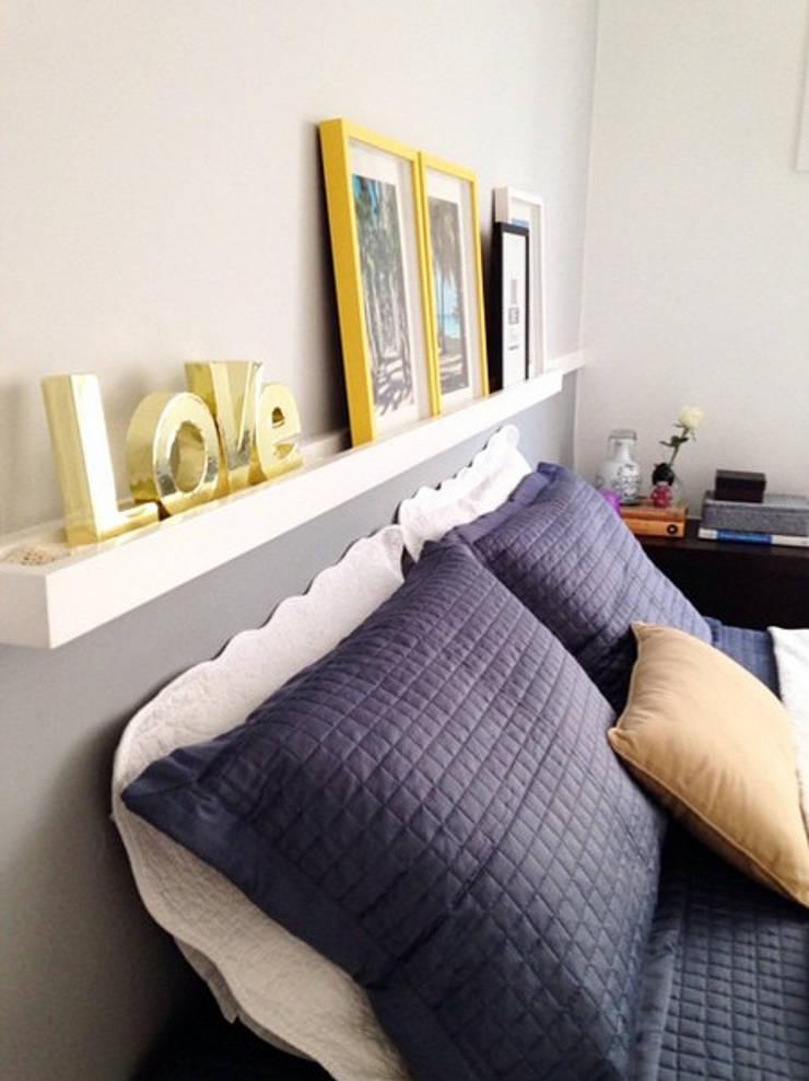 Apartamento Leblon II: Quartos  por Duplex Interiores ,