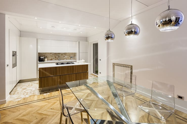 HOUSE G&S: Cucina in stile  di GINO SPERA ARCHITETTO