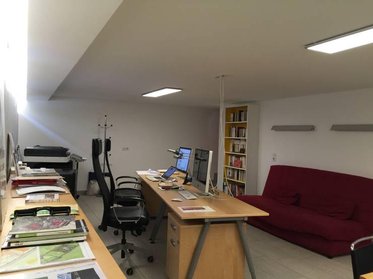 villa afp: Bureau de style  par A.FUKE-PRIGENT ARCHITECTE
