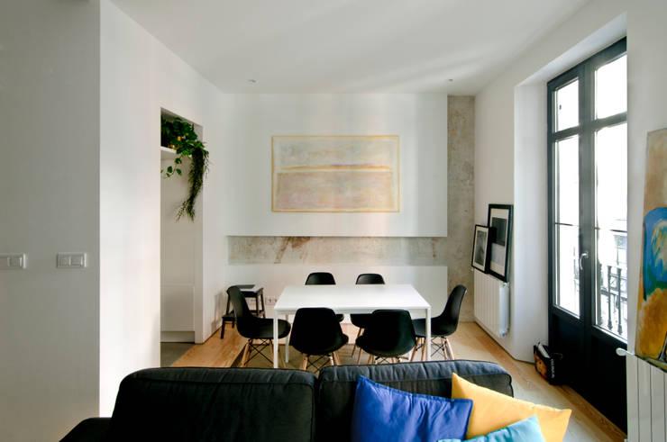 Projekty,  Jadalnia zaprojektowane przez Garmendia Cordero arquitectos