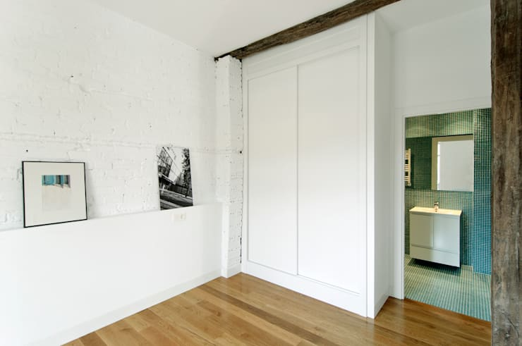 Reconversión de un txoko en vivienda: Cocinas de estilo  de Garmendia Cordero arquitectos
