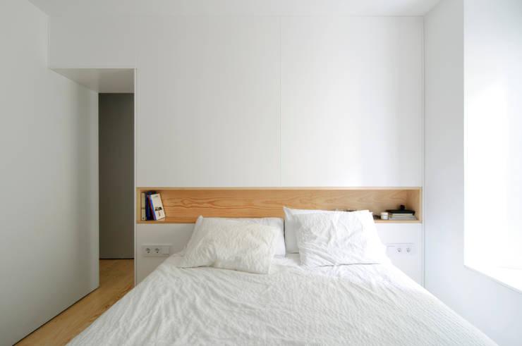 Projekty,  Sypialnia zaprojektowane przez Garmendia Cordero arquitectos