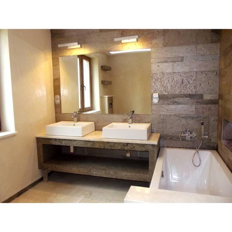 Kwarcyt Golden Natural: styl , w kategorii Ściany i podłogi zaprojektowany przez Kamienie Naturalne Chrobak