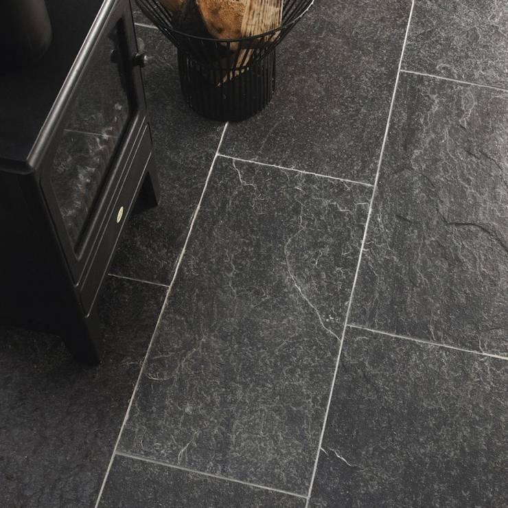 Kwarcyt Silver Grey Natural : styl , w kategorii Ściany i podłogi zaprojektowany przez Kamienie Naturalne Chrobak