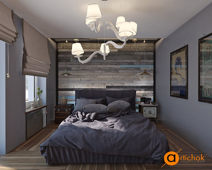 INSTAGRAM: Спальни в . Автор – Art-i-Chok