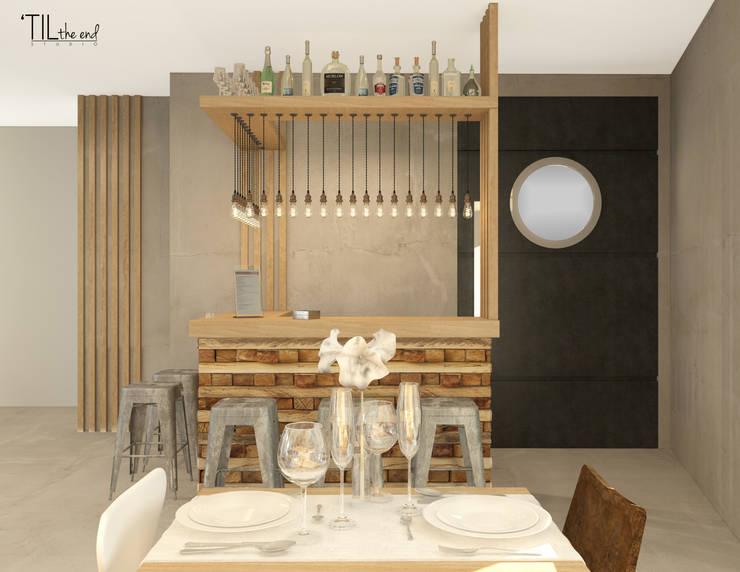 Restaurant bar: Hotéis  por Lagom studio