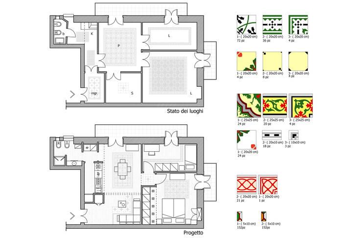 Planimetria casa di 60 mq consigli e idee for Progetto di una casa